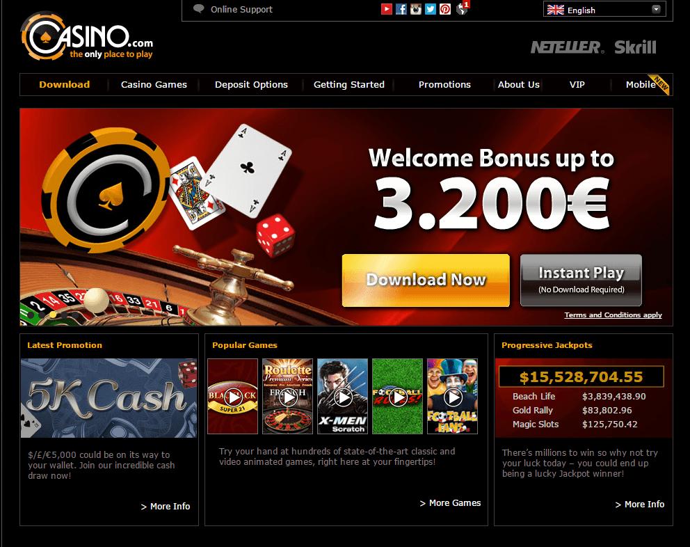 casino x com